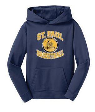 Picture of YST244 Sport-Tek® Youth/Adult Sport-Wick® Fleece Hooded Pullover